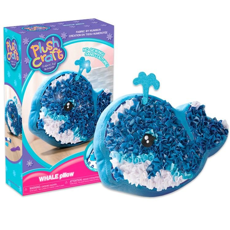 Plushcraft Whale Pillow Girls Craft Educational Toys Planet Plush Craft Crafts For Girls Crafts
