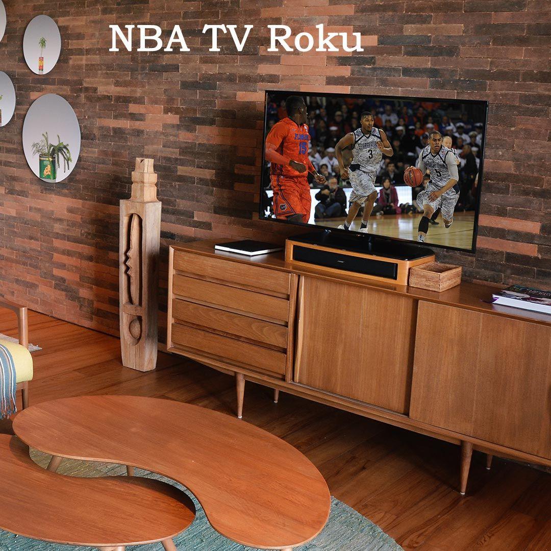 How to Stream NBA Games on Roku Nba tv, Tv online
