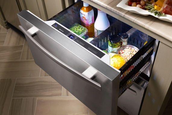 I Ve Decided What I Want For Christmas A Horizontal Fridge Freezer Undercounter Refrigerator Kitchen Design Trends Modern Kitchen Design