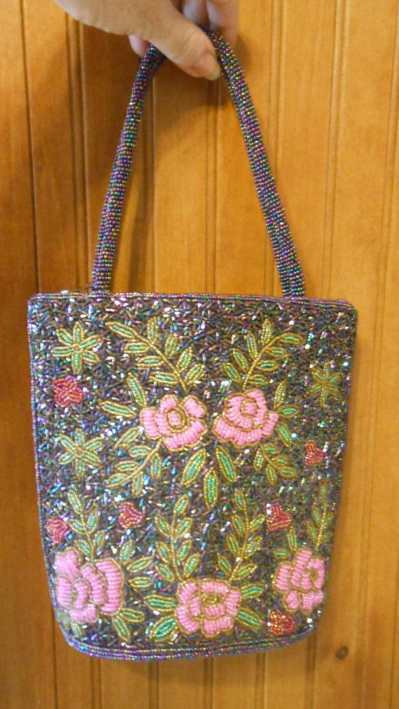 Not a traditional Mosaic, but the beauty and art of this bag is reminiscent and certainly inspired by mosaic design....