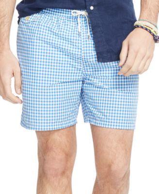 0e914d73485bd POLO RALPH LAUREN Polo Ralph Lauren Men'S Big And Tall Gingham Traveler Swim  Shorts. #poloralphlauren #cloth # swimwear