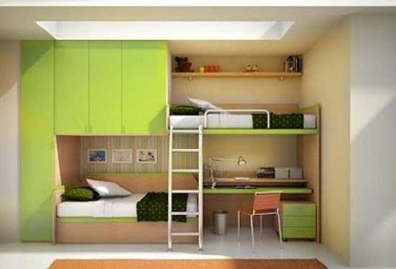 Kids Bunk Beds With Desk Bunk Bed With Desk Besides Can
