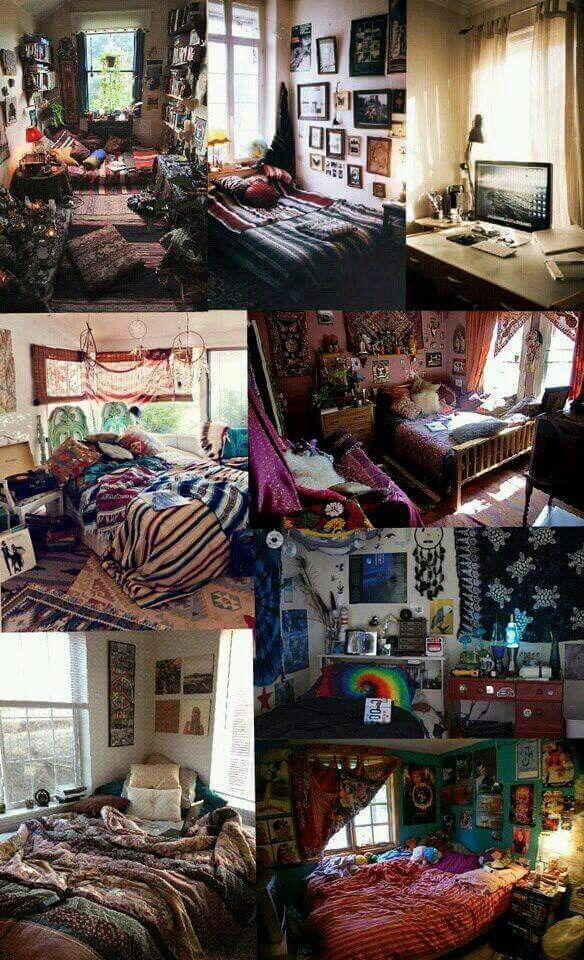 Pinterest Bohemian Bedroom Ideas: American Hippie Bohéme Boho Lifestyle ☮
