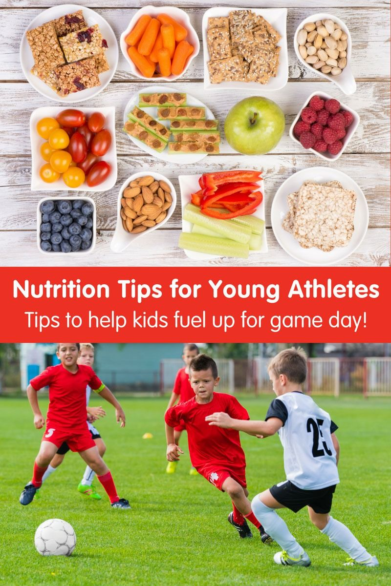 Top Nutrition Tips for Young Athletes #athletenutrition