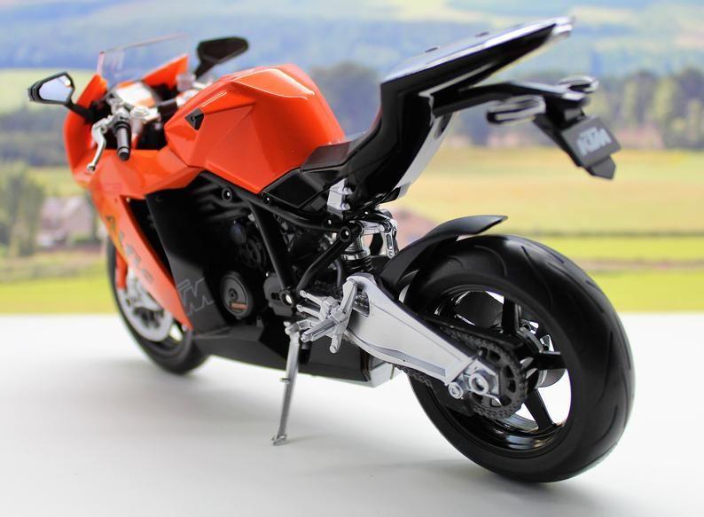 Personalised Name Gift Ktm Motorcycle Motorbike Boys Dad Toy