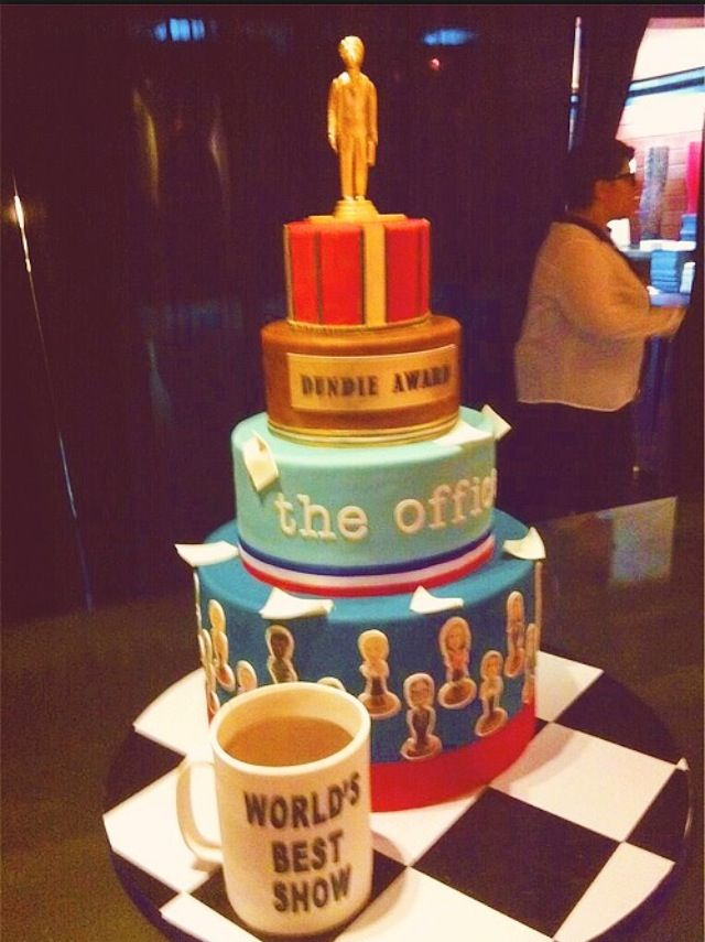 The Office Cake Television Pinterest The Office Office