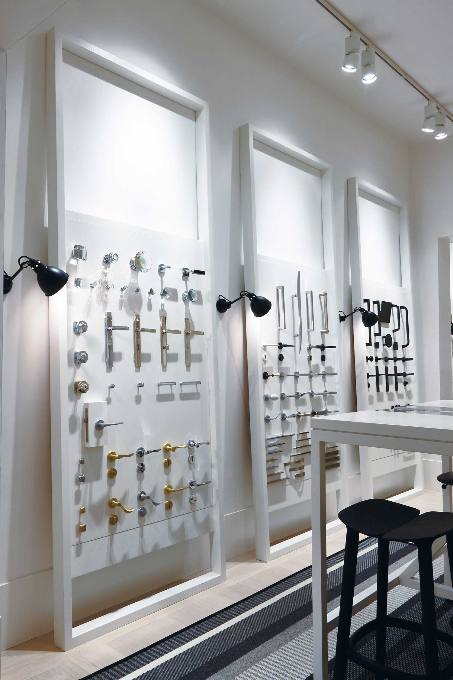 Pittella Melbourne Showroom Hecker Guthrie Inroom Exhibici De Producto Herrajes Para