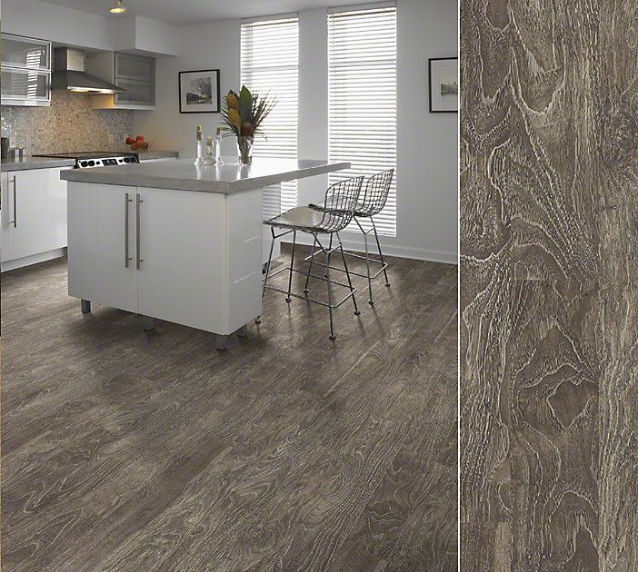 """Shaw laminate in a """"limed"""" visual combining traditional"""