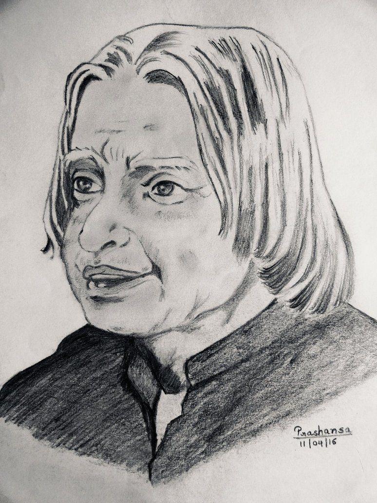 A P J Abdul Kalam by PRASHANSAAA.deviantart.com on ...