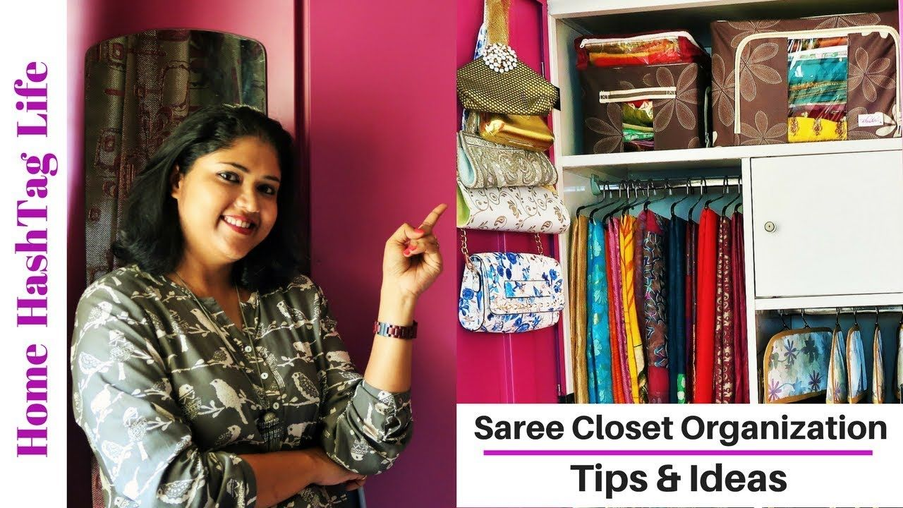 Saree Closet Organization Tips Home Hashtag Life Closet Hacks