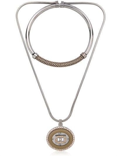 LEDAOTTO - MARACANÃ STADIUM NECKLACE - LUISAVIAROMA - LUXURY SHOPPING WORLDWIDE SHIPPING - FLORENCE