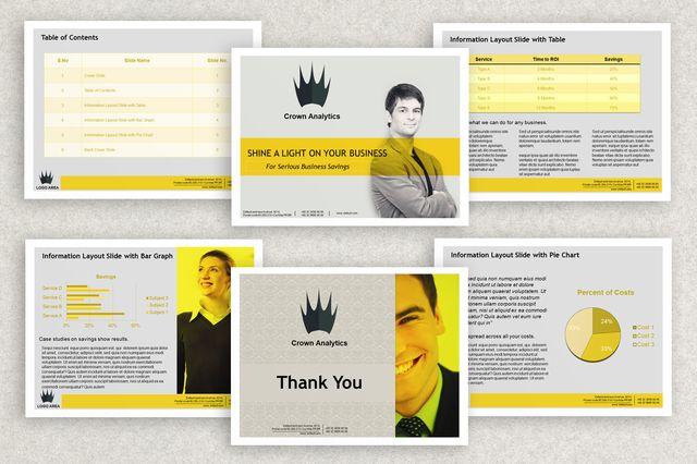 Inkd Business Powerpoint Presentation Template Retail