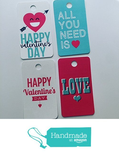 Valentine's Day Gift Tags, Hang Tags, Happy Valentines, Love Gift Tags https://www.amazon.com/dp/B01NBXJ61L/ref=hnd_sw_r_pi_dp_VKmHybKEWF1B5 #handmadeatamazon