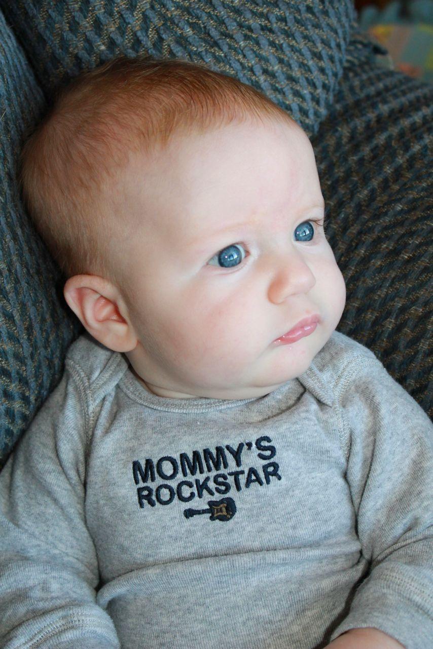 Ginger Baby Rockin That Onesie Motherhood