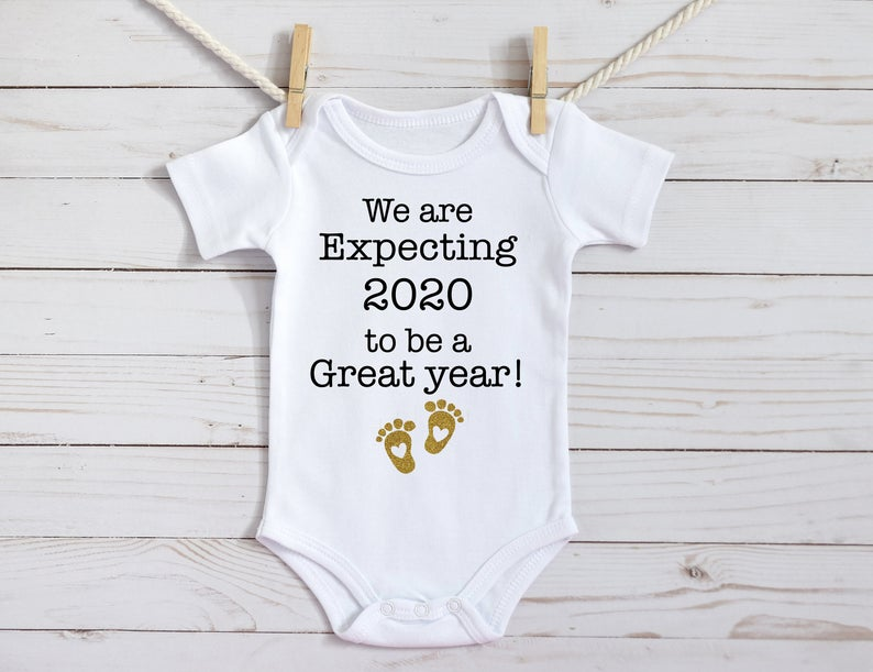 Pin On Pregnancy Announcement Onesies