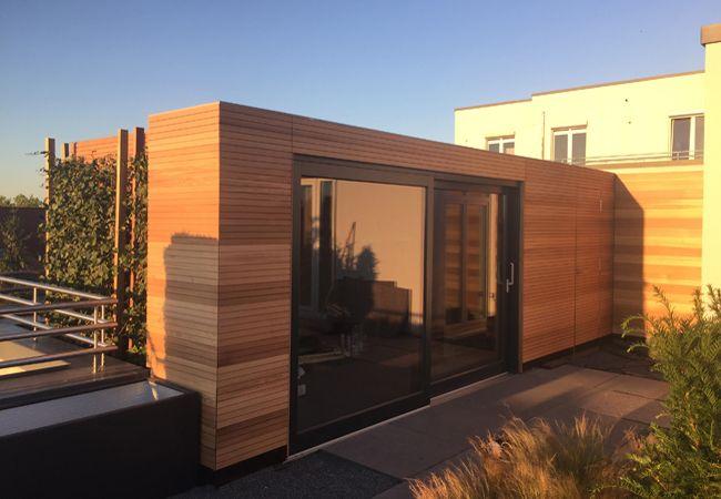 Machen Sie Ihren Garten Mit Einer Außensauna Zum Privaten Wellnessbereich!  Planen Sie Ihre Design Außensauna Mit Corso!
