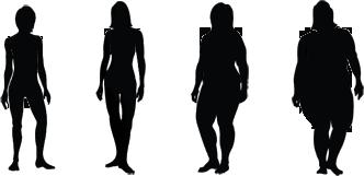 صحة أون لاين حساب الوزن المثالي Human Silhouette Silhouette Human