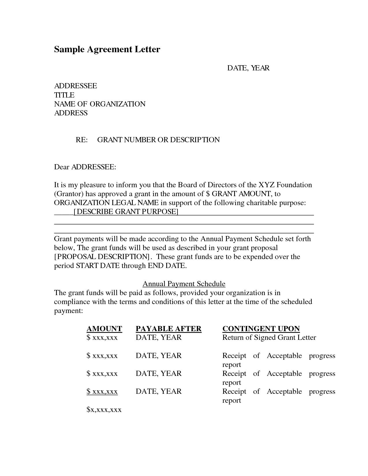 Sample agreement letter by smilingpolitely letter of agreement sample agreement letter by smilingpolitely letter of agreement sample platinumwayz