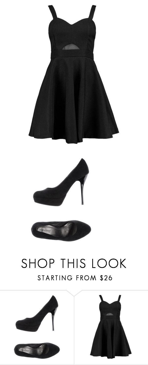 """""""Untitled #1307"""" by laurie-egan on Polyvore featuring PrimaDonna and Boohoo"""