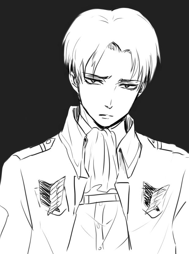 """""""The """"I'm bored and I feel like I want to kill somebody"""" look is awesome! great work!"""" Yep! :) Rivaille by tifl429.deviantart.com on @deviantART"""
