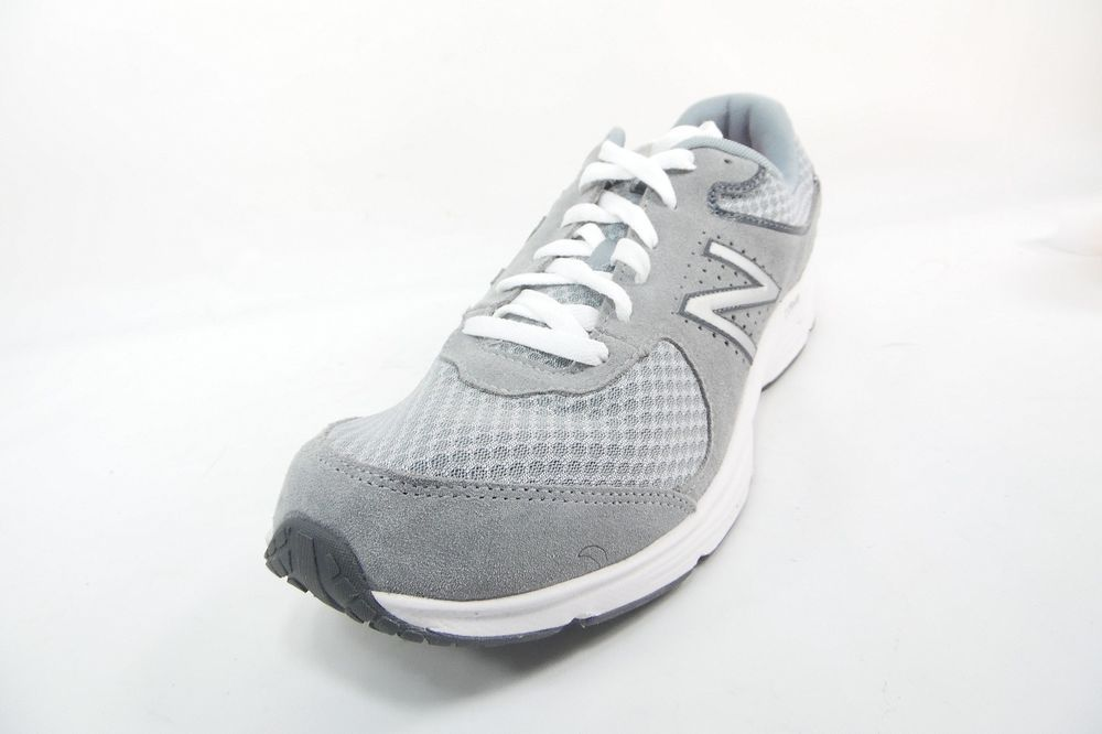 829b83ff5e Details about New Balance Mens MW411GR2 Gray Walking Athletic Lace ...