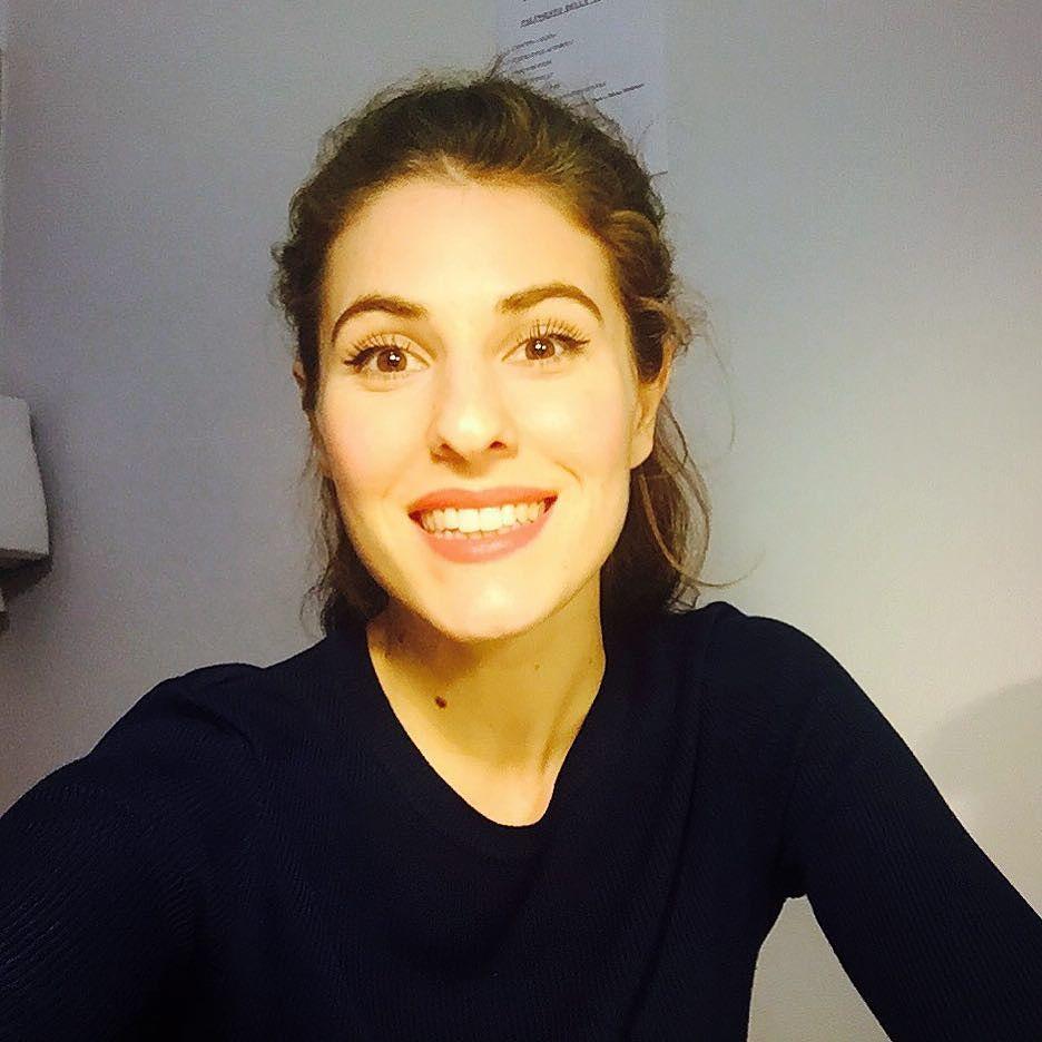 #DianaDelBufalo Diana Del Bufalo: Ho decisamente un occhio più piccolo dell'altro...