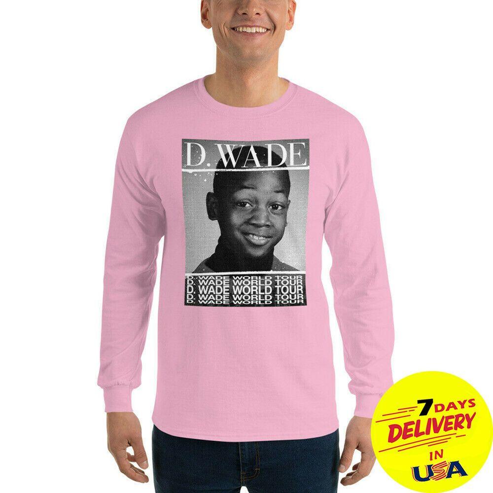D Wade World Tour Long Sleeve T-Shirt D.Wade World Tour T-Shirt