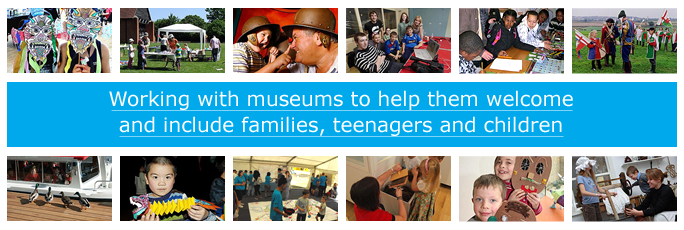 Éva is interested in this: Kids in Museums - Working with museums to help them welcome and include families, teenagers and children