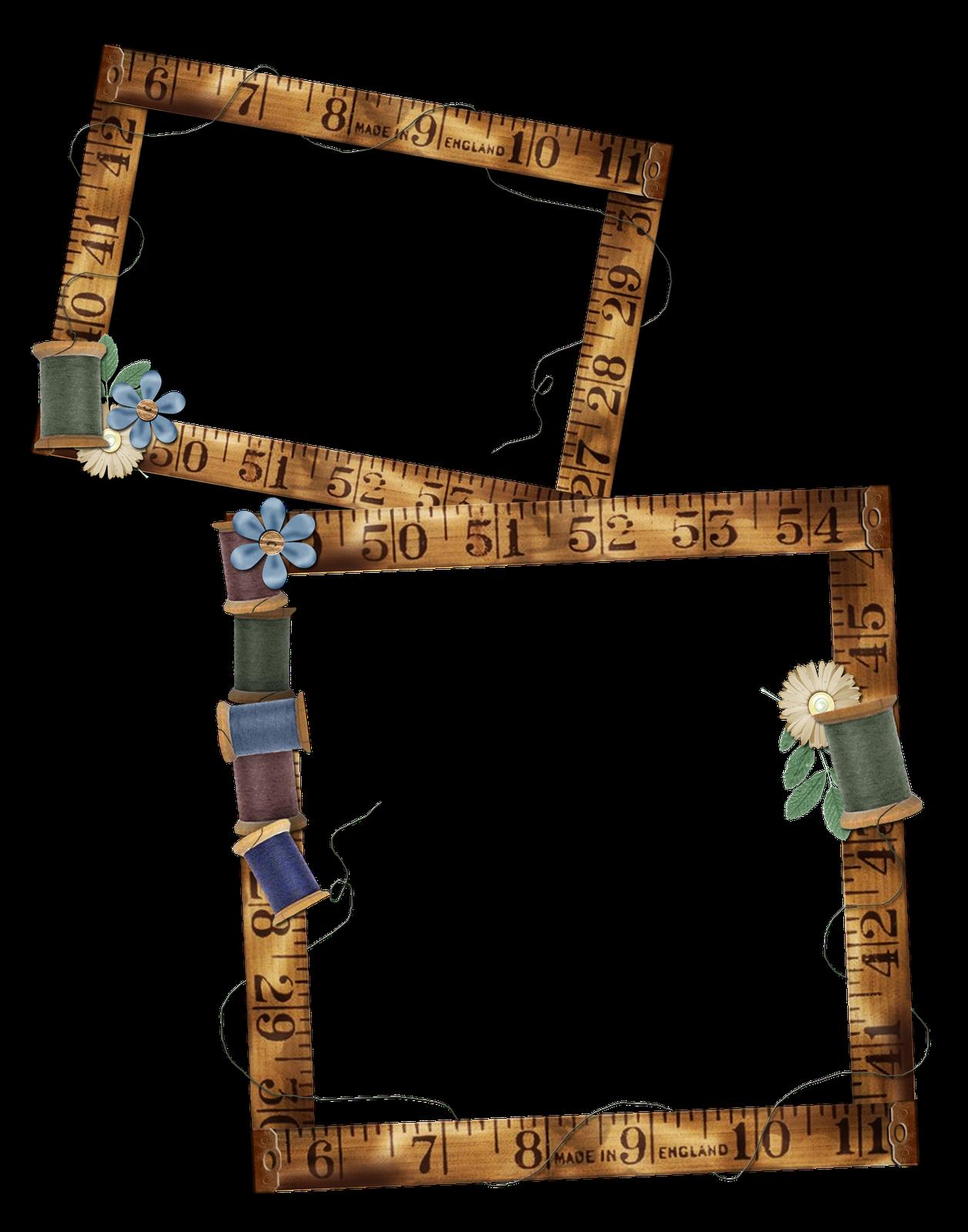 Granny Enchanted\'s Elements: Free Sewing Frames 1 Digi Scrapbook ...