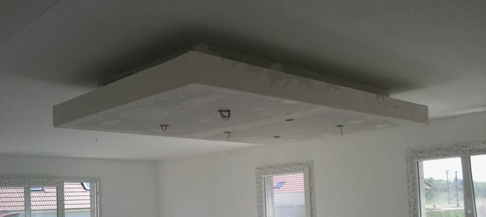 Rail placo plafond chassis suspendu montant r45 m45 for Comment faire un faux plafond design