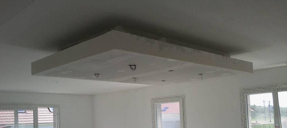 Rail Placo Plafond Chassis Suspendu Montant R45 M45 Caisson Decaissement Faux Plafond Design Plafond Et Plafond En Placo