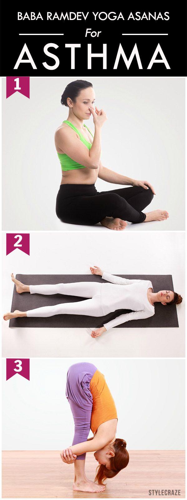 7 Baba Ramdev Yoga Asanas To Treat Asthma | Baba ramdev yoga, Baba ...