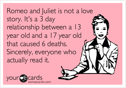 romeo and juliet 3 day relationship test