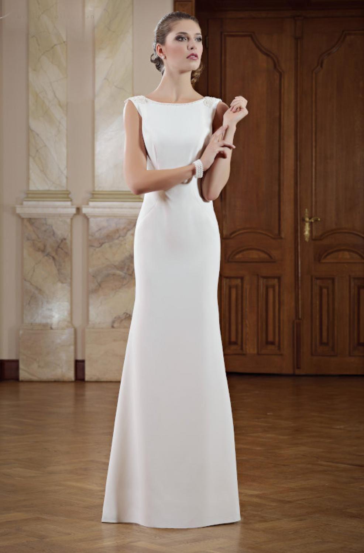 Elegantes schmales Brautkleid - Kleiderfreuden  Schmale