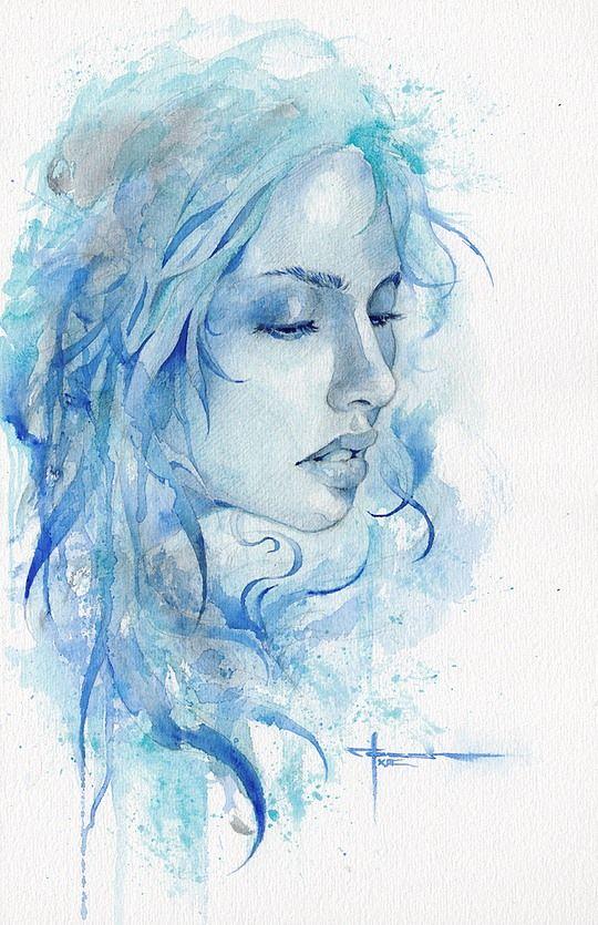 Beautiful Watercolor Paintings By Mekhz Watercolor Paintings