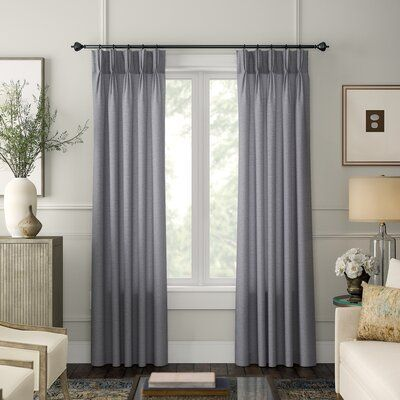Duralee Fabrics French Pinch Pleat Curtain Panels In 2020