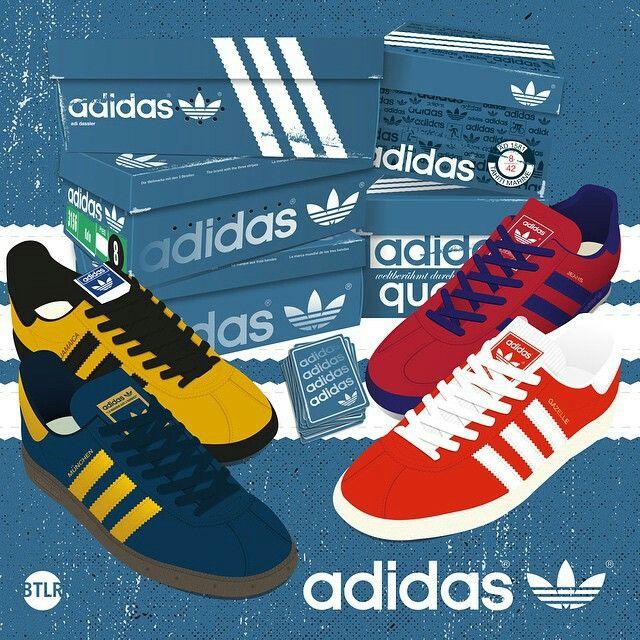Pin oleh Milan Jakovljevic di logo Sepatu adidas, Gaya