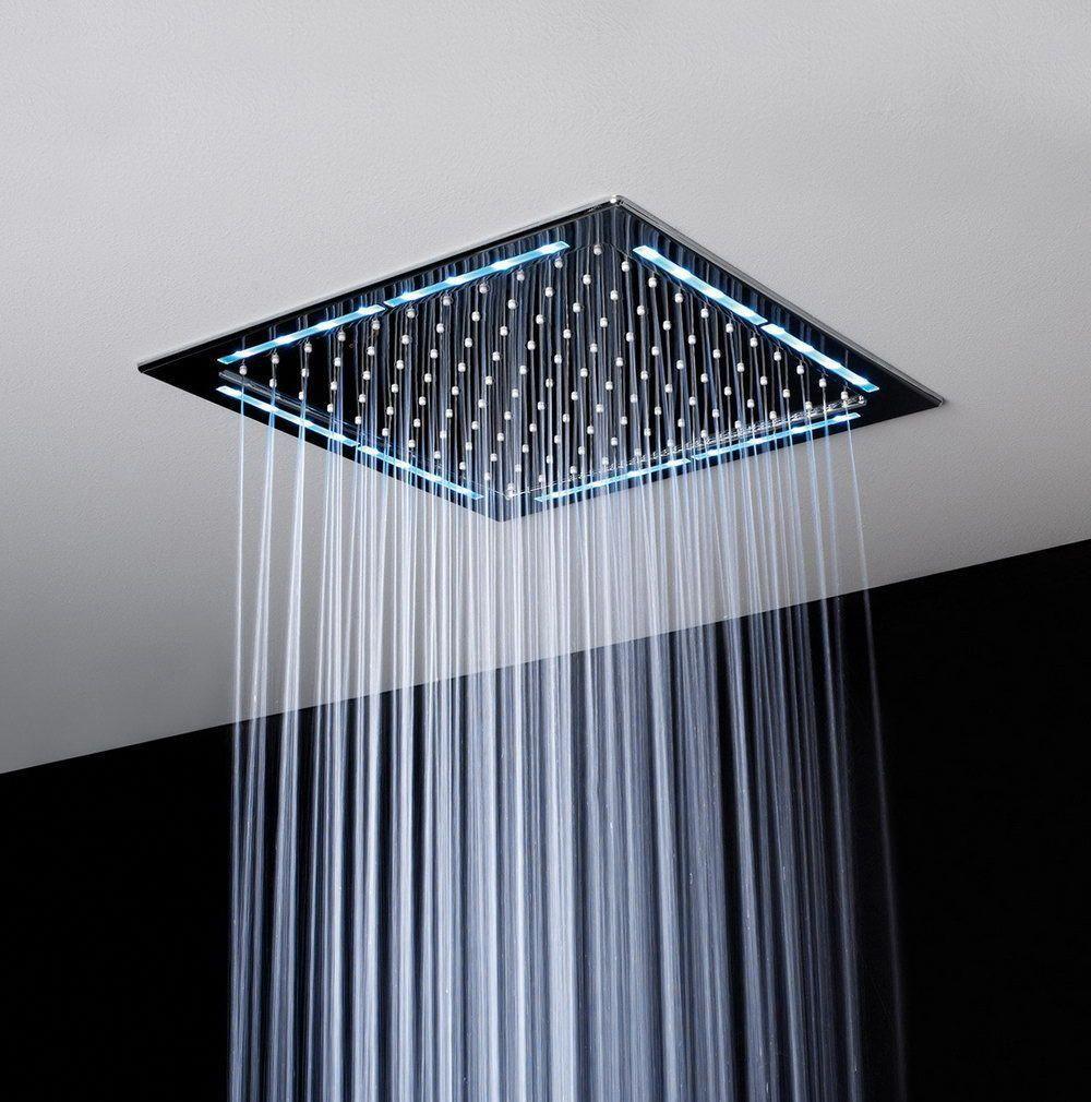 Flush Mount Rain Shower Head Showerheadsikea Modernhomedecorbathroom Ceiling Shower Head Shower Heads Minimalist Decor