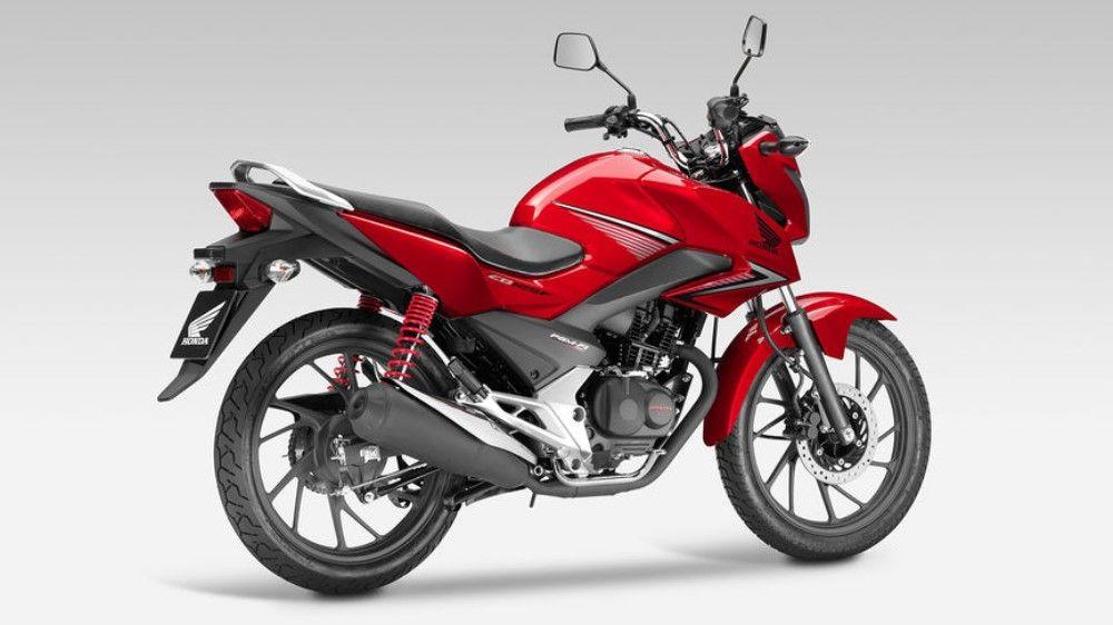 Honda Cb125 F A Inteligencia Urbana Motocicleta
