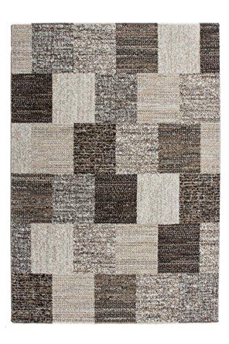 Teppich Wohnzimmer Modern Carpet Geometrisches Design RUG Jupiter 323 Sand  160x230cm Teppiche Günstig Online Kaufen Https