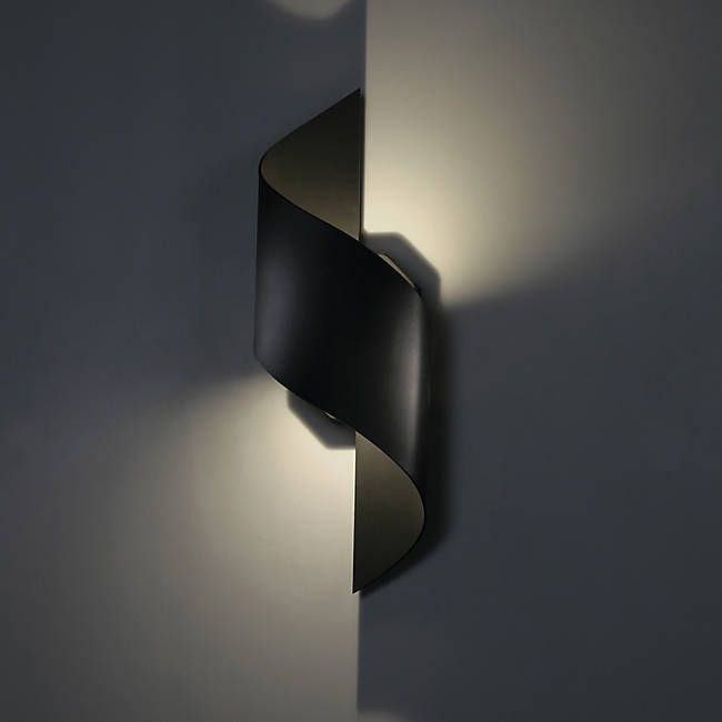 Helix Indoor Outdoor Led Wall Sconce By Modern Forms At Lumens Com Modern Lamp Design Led Outdoor Wall Lights Led Wall Sconce
