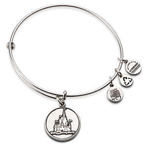 Walt Disney World Castle Charm Bracelet by Alex and Ani | Disney Store on Wanelo