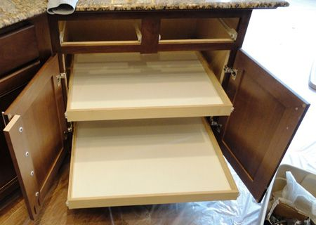 Tutorial On Removing Cabinet Stile   Optimize The Amount Of Storage Space  In A Small Kitchen