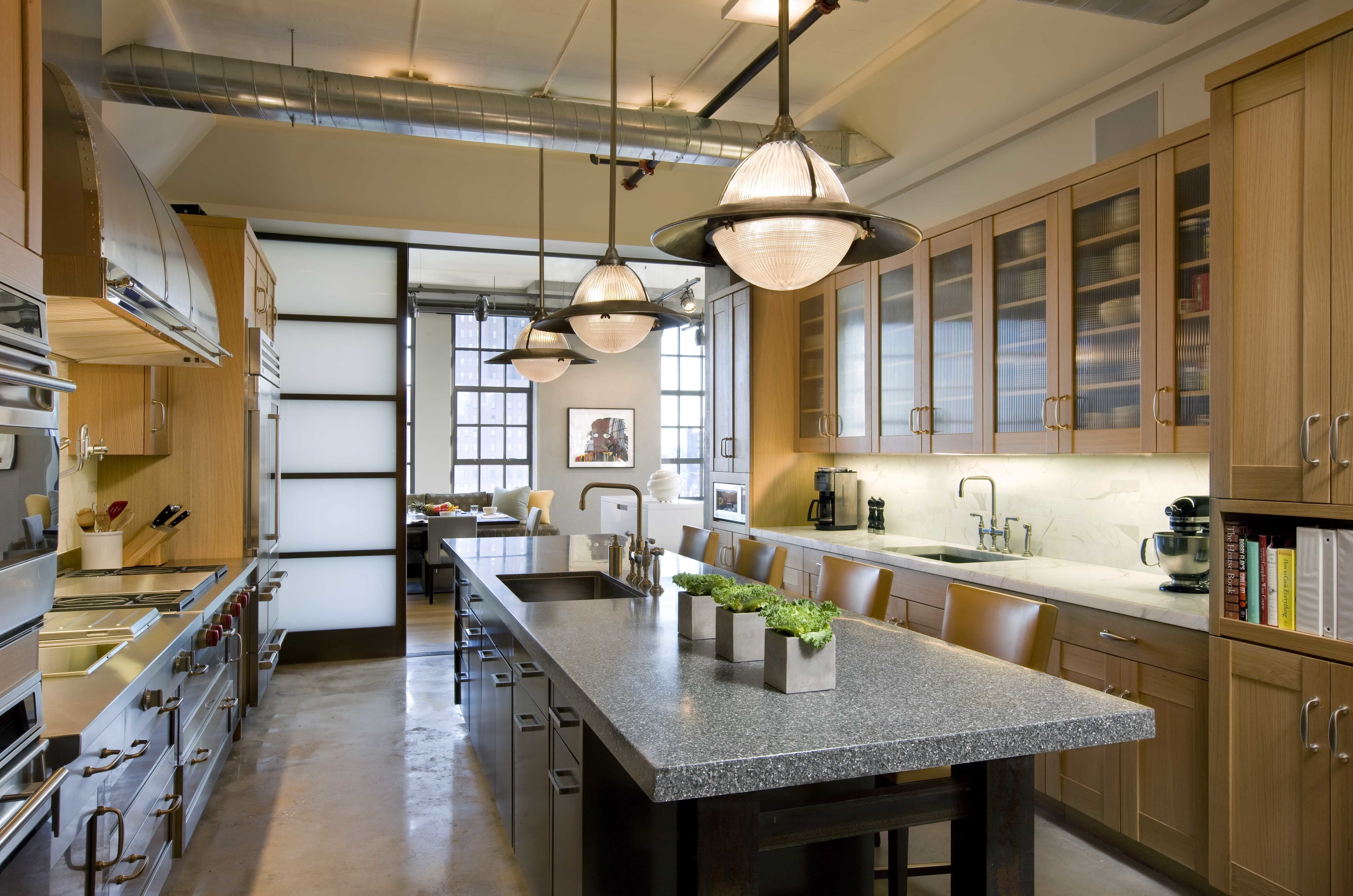 6 Clever Kitchen Design Ideas From St Charles Of New York Kitchen Design Loft Kitchen Kitchen Cabinets For Sale