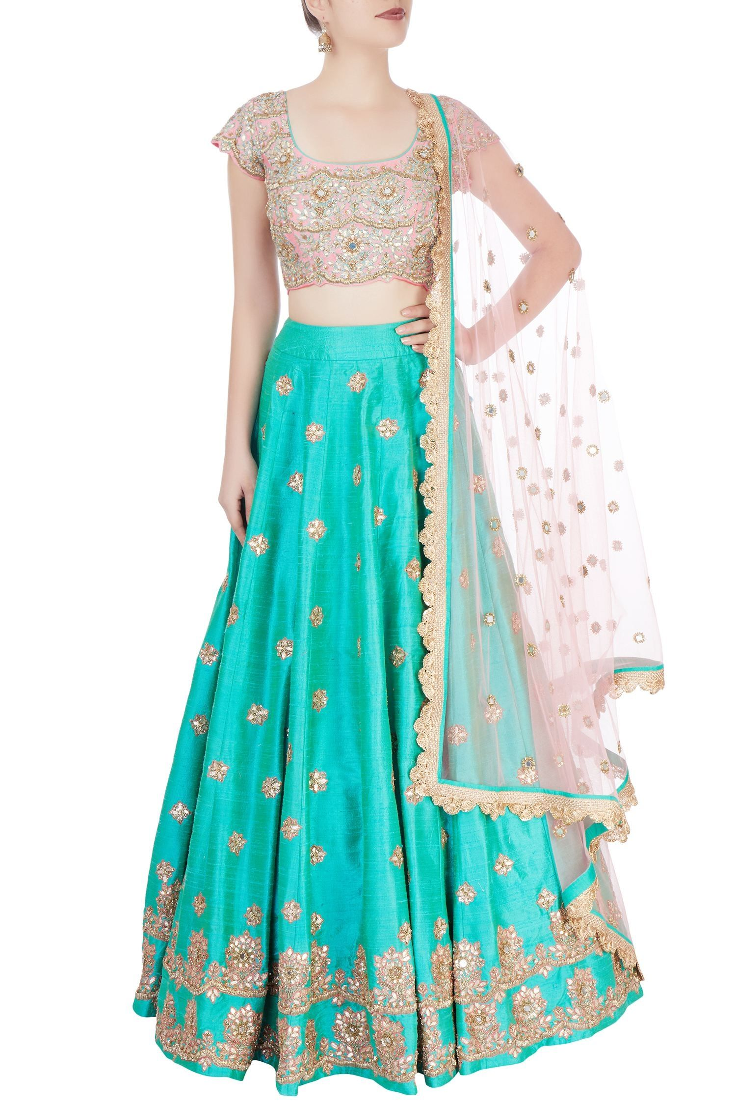 Sea green | Punjabi Suit | Pinterest | Indian wear, Indian designer ...