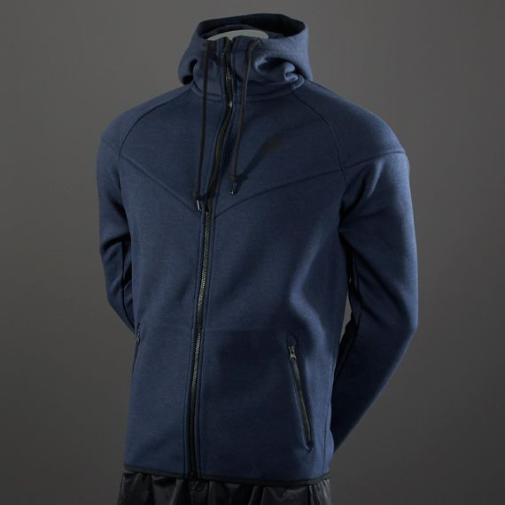 6fc3295a40 Nike Tech Fleece Windrunner - Mens Soccer Clothing - Navy Blue-Black SIZE S   4 on my list  PDSMostWanted  Prodirect