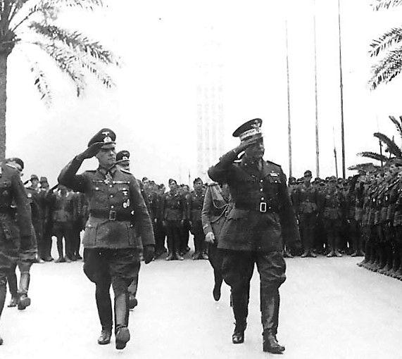 Image result for rommel arrives in Tripoli, feb. 1941