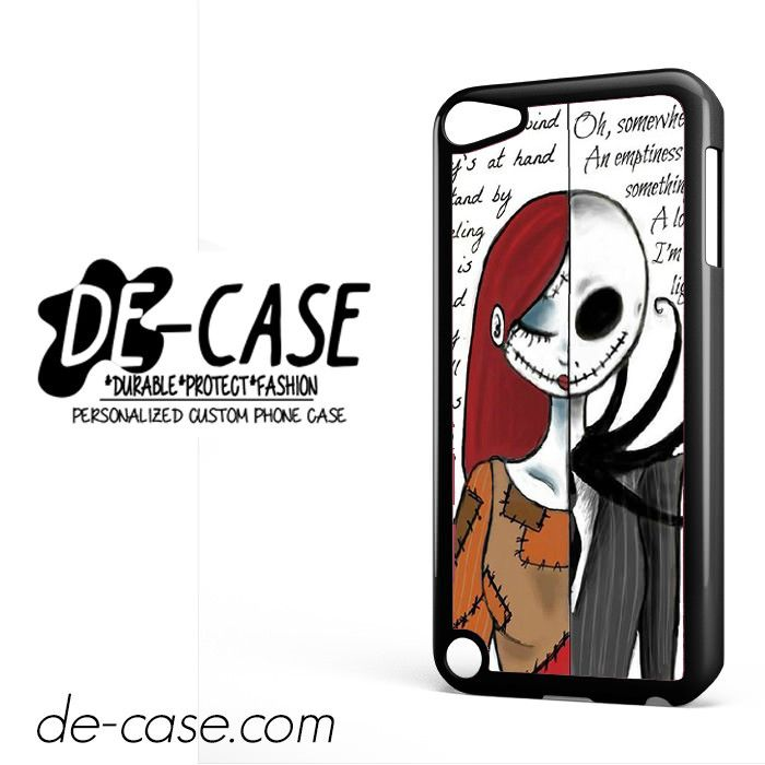 The Nightmare Before Christmas Quotes For Ipod 5 Ipod Touch 5 Case Phone Case Gift Present YO