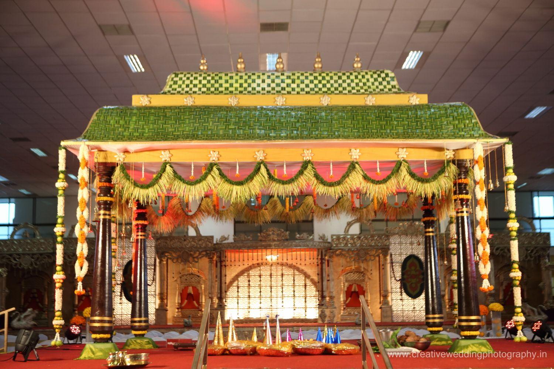 Creative Wedding Photography (19)   Indian Wedding Decorators ... for Pelli Mandapam Vedika Stage Decorations  55dqh