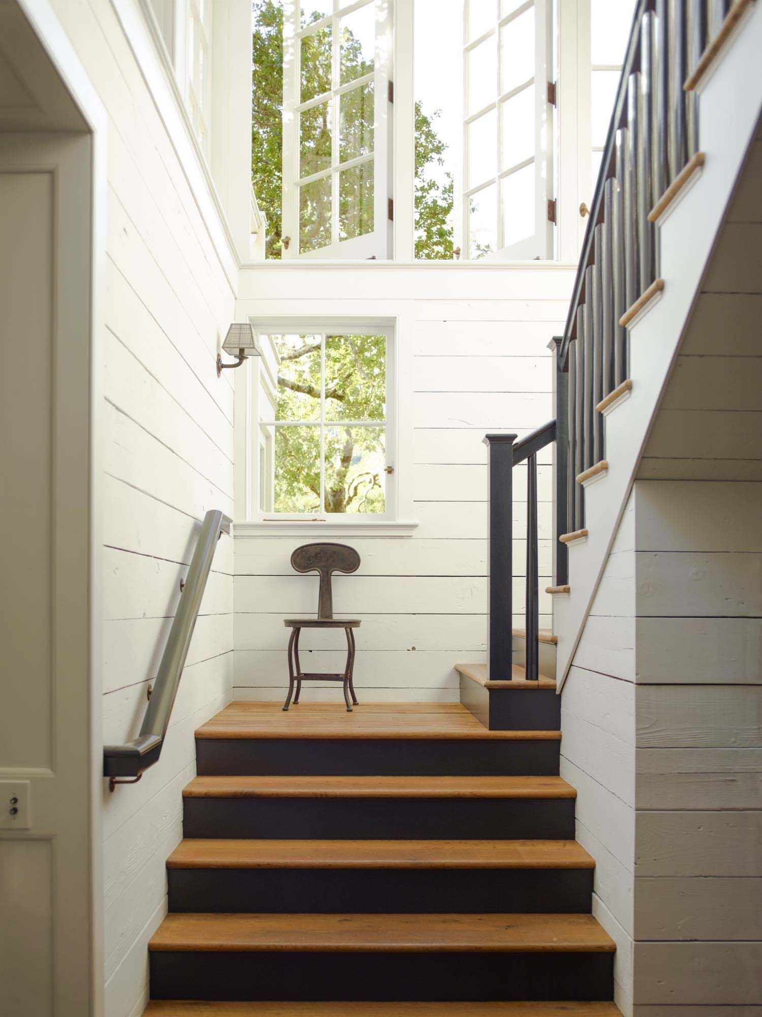 Staircases In Homes Charming Countryside Home In Mill Valley Gets Inspiring